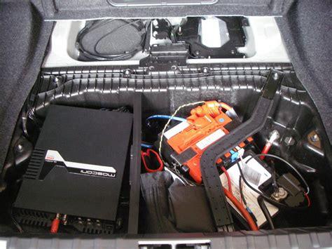 Batterie Im 1er Bmw by Subwoofer Endstufe Lpg Tank Im 1er Bmw 1er 2er