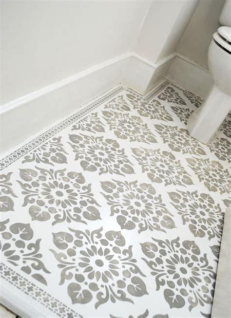 Free Floor Stencils by De 25 Bedste Id 233 Er Inden For Paisley Stencil P 229 Pinterest