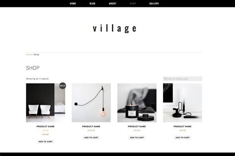 bootstrap templates for village woocommerce wp theme village wordpress commerce themes