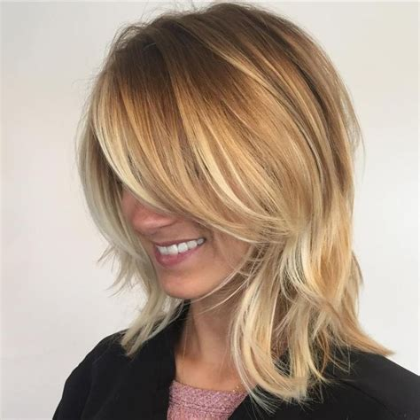 blonde mid lenth layers 17 best images about hairstyles on pinterest messy bob