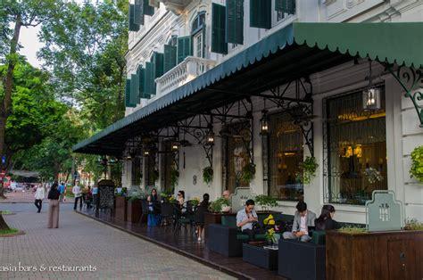 la terrasse la terrasse cafe at sofitel metropole hanoi