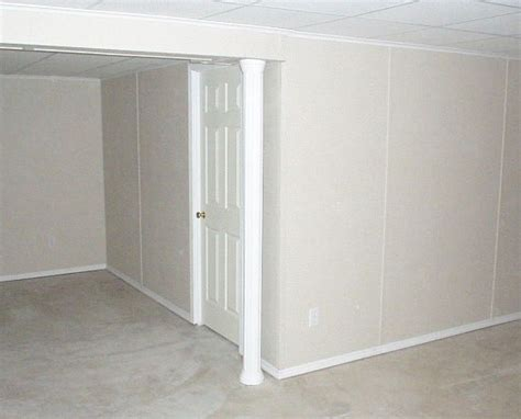everlast basement wall paneling installation in