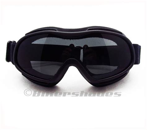 prescription motocross goggles motorcycle fits over rx glasses coverover goggles smoke