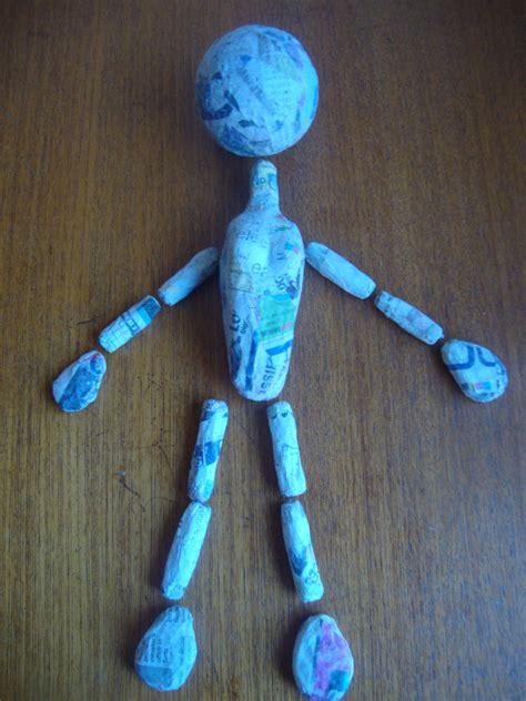 How To Make A Paper Mache Puppet - paper mache marionette