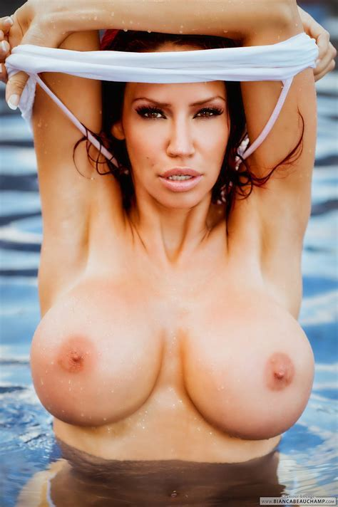 Pinkfineart White Wet Fun Blue Pool From Bianca Beauchamp
