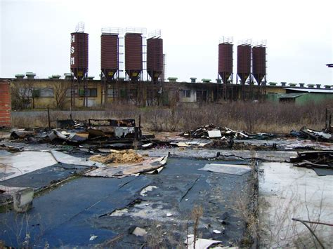 the site brownfields of abandonment and contamination beneath your