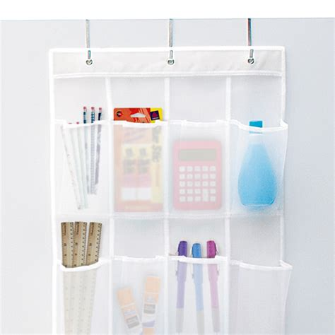 bathroom shower shoo holder 24 pocket mesh over the door shoe bag the container store