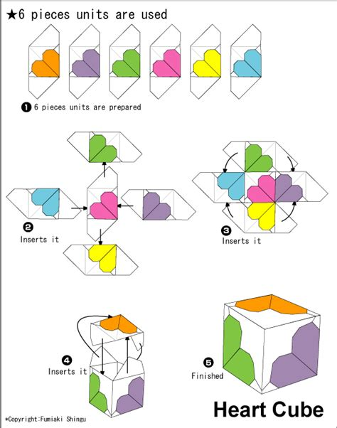 How To Make A Paper Cube Step By Step - paperbelle origami 04 feb 2012