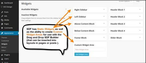 wordpress layout builder widget area layout builder widget area widgets