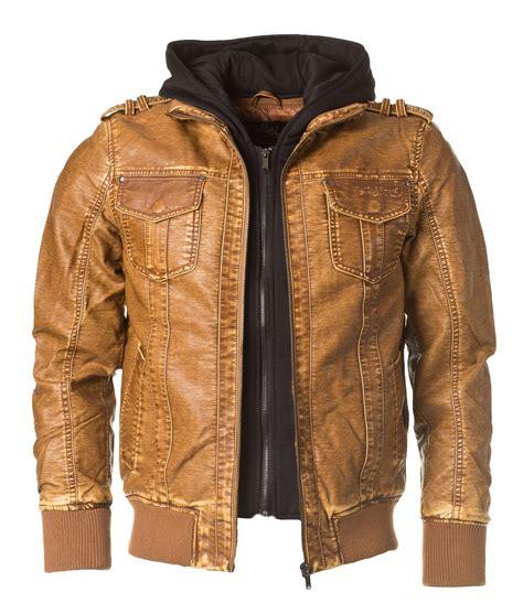 Jacket Design Camel Leather Jacket Mens