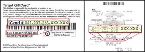 Target Gift Card Check Balance - how to check the balance of a target gift card infocard co