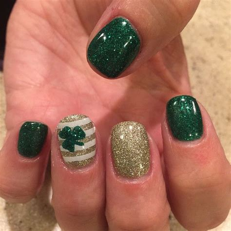 irish nail designs ideas  pinterest irish