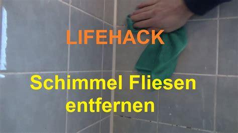Fliesen Schimmel Entfernen by Badezimmer Fliesen Schimmel Beseitigen Bad Schimmel
