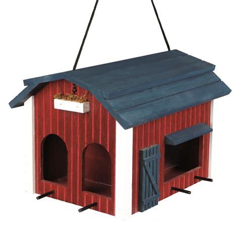 scheune rot trixie futterhaus scheune 24x22x32cm rot nr 55853