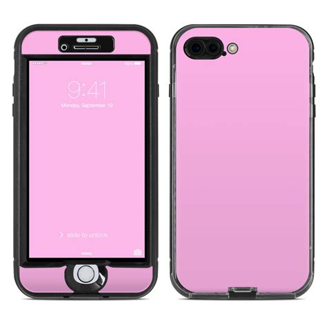 lifeproof iphone 7 plus nuud skin solid state pink by solid colors decalgirl
