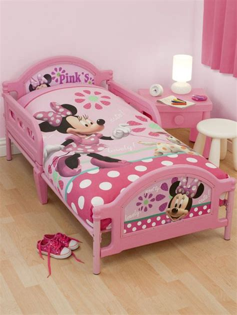 Pink Toddler Bed Set Minnie Mouse Bed Pink Minnie Mouse Bedroom Pinterest Minnie Mouse Bedding Sets And Mice