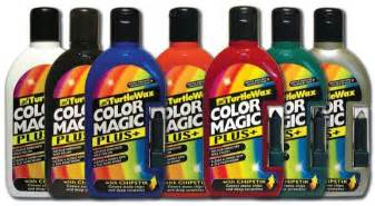 colored wax turtle wax colour magic car light 500ml with