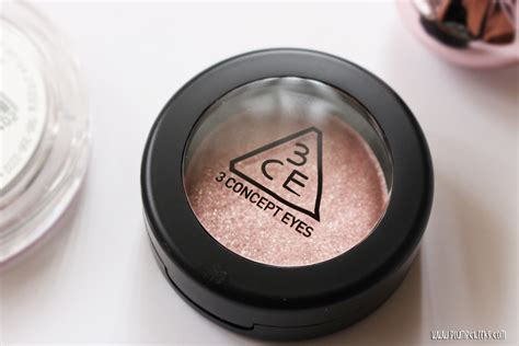 Eyeshadow 3ce 3ce one color shadow sparkling in venus review photos