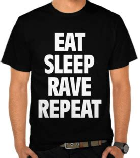 Kaos Tshirt Baju Eat Sleep Gamers Premium jual kaos eat sleep repeat toko baju disc jockey