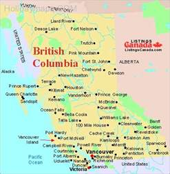 map of columbia map travel
