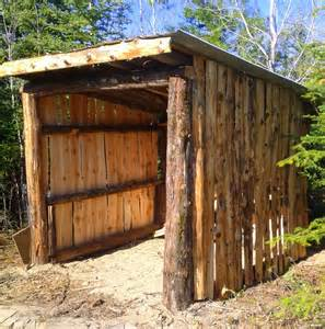 Rustic Shed Plans by Bradley S Slabwood Shed Link To Plans For Building