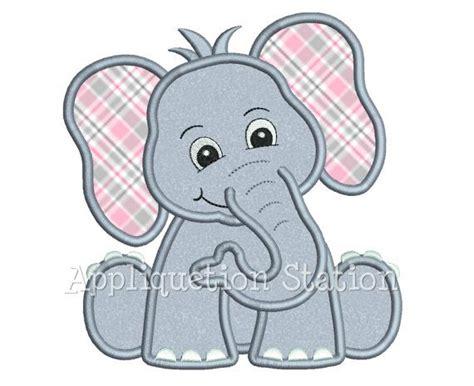 free applique downloads safari baby elephant applique machine by