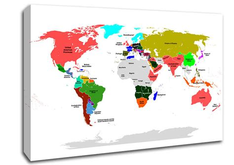 map world canvas world map maps canvas stretched canvas