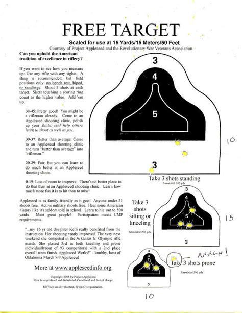 Printable Aqt Targets | 50 aqt promo target
