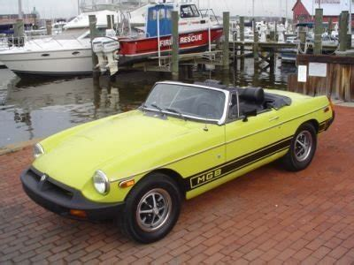 E0 Black Citron 3mg 1975 mg mgb 1975 mg mgb for sale to buy or purchase classic cars for sale cars for