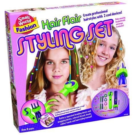Hair Style Kit Toys by Hair Flair Beaded Hair Styling Set