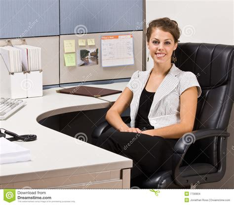 For Sitting At Desk by Businesswoman Sitting At Desk Stock Images Image 7730904