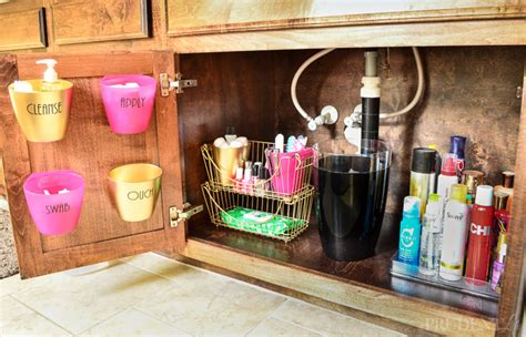 how to organize bathroom vanity home organization ideas