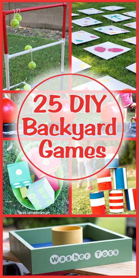 backyard carnival games 25 diy backyard games i might like this sight a little