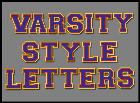 free printable varsity letters varsity style letters promethean resource gallery pack