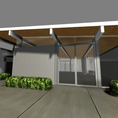 eichler models 3d model of joseph eichler home