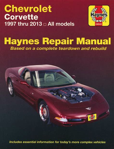 free auto repair manuals 1993 chevrolet corvette free book repair manuals chevrolet corvette repair manual haynes 1997 2013 free shipping