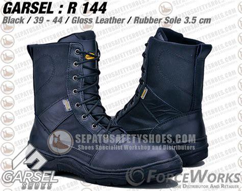Garsel Sepatu Boot Adventure Safety Shoes Pria Bahan Ku Murah sepatu gunung garsel r 144