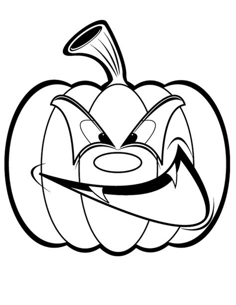 Simple Jack O Lantern Coloring Home Free O Lantern Coloring Pages