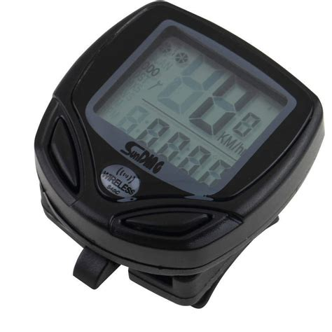 Speedometer Wireless wireless lcd cycle computer bicycle meter speedometer odometer