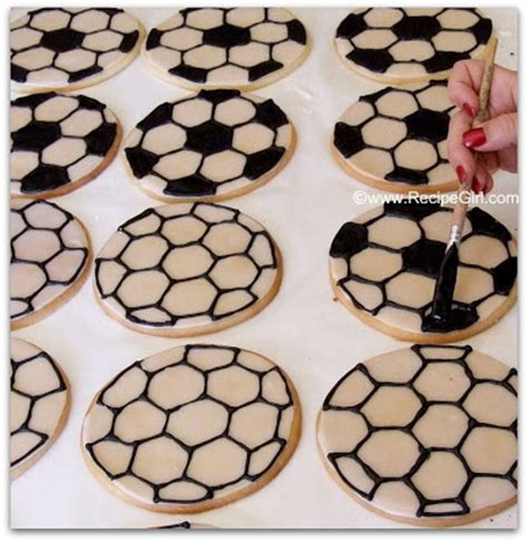 soccer template for cookies the recipe how to make soccer cookies
