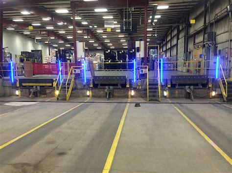 loading dock lights green customer testimonial led lights used for truck dock
