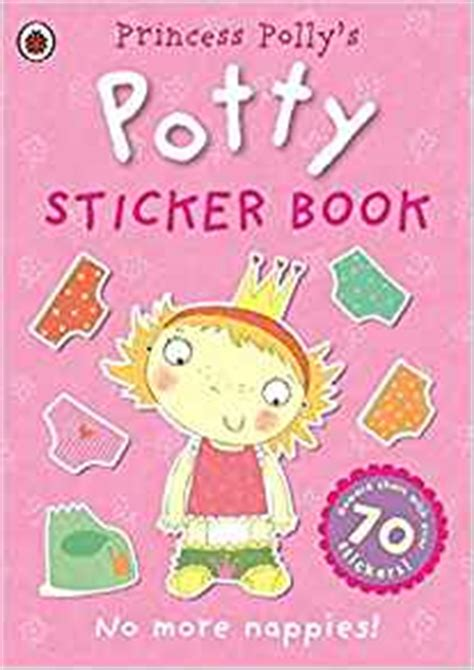 princess polly s potty sticker activity book ladybird 9780723281580 amazon com books