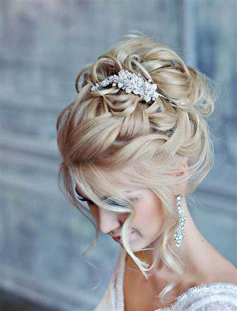 Wedding Updo Hairstyles Gallery by Gallery For Curly Wedding Updos