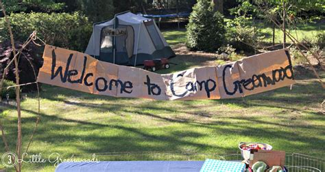 Ideas For Backyard Birthday Party Camping Birthday Party Fun