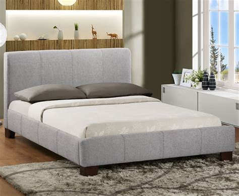 Headboards For 4ft Beds by Small 4ft Grey Upholstered Bed Just 4ft Beds