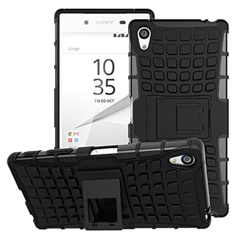 Xperia X Rugged Armor Soft Cover Casing Kickstand Xphase H 1 sony xperia z5 premium moko heavy duty rugged dual import it all