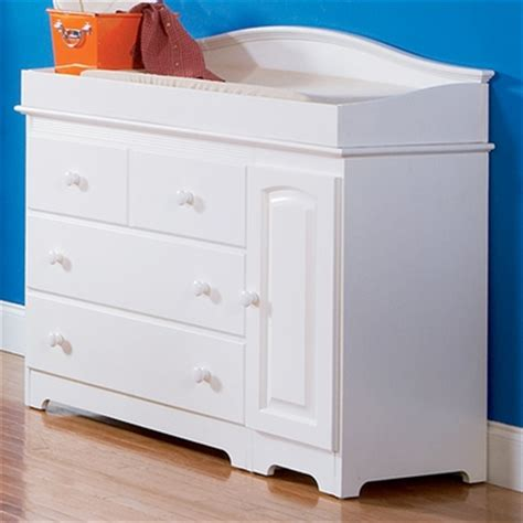 White Dresser And Changing Table by Atlantic Furniture Combo Changing Table 3 Drawer