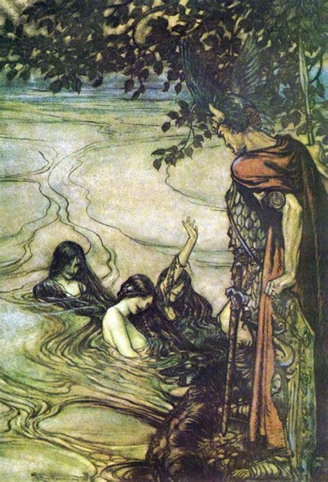 the myth of the twentieth century books illustrator spot arthur rackham pass on the story