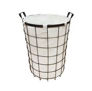 Beauty Gift Baskets Mystic Basic Round Metal Wire Hamper