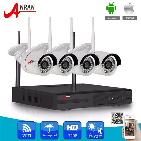 anran 8ch 960p nvr wireless ip network kit outdoor home